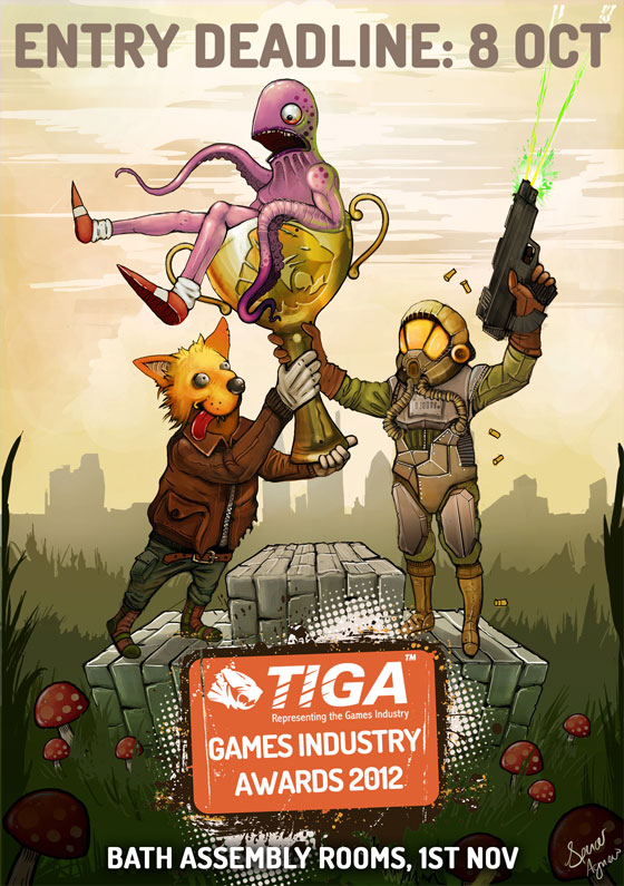 TIGA Games Industry Awards 2012